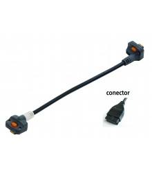 Cable de conexión tipo D para U-WAVE P / Linear Heigth / IDH - 02AZD790D