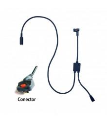Cable de conexión con entrada de pedal tipo B para U-WAVE  (Calibre COOLANT PROOF) - 02AZE140B