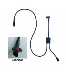 Cable de conexión con entrada de pedal tipo C para U-WAVE (Calibre) - 02AZE140C