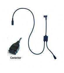 Cable de conexión con entrada de pedal tipo D para U-WAVE (Linear Heigth / HDI) - 02AZE140D