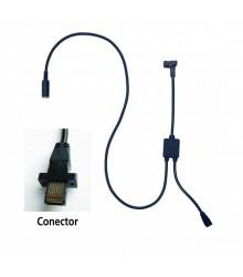 Cable de conexión con entrada de pedal tipo G para U-WAVE (Reloj Comparador COOLANT PROOF) - 02AZE140G