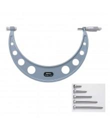 Micrómetro externo 150-300mm 0.01mm con topes intercambiables 104-136A