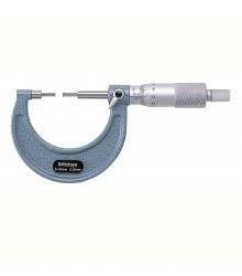 Micrómetro externo 0-25 mm 0.01 mm con puntas delgadas 111-115