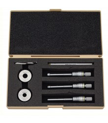 Juego de micrómetro interno de tres puntos 6-12 mm 0.001 mm Holtest 368-911