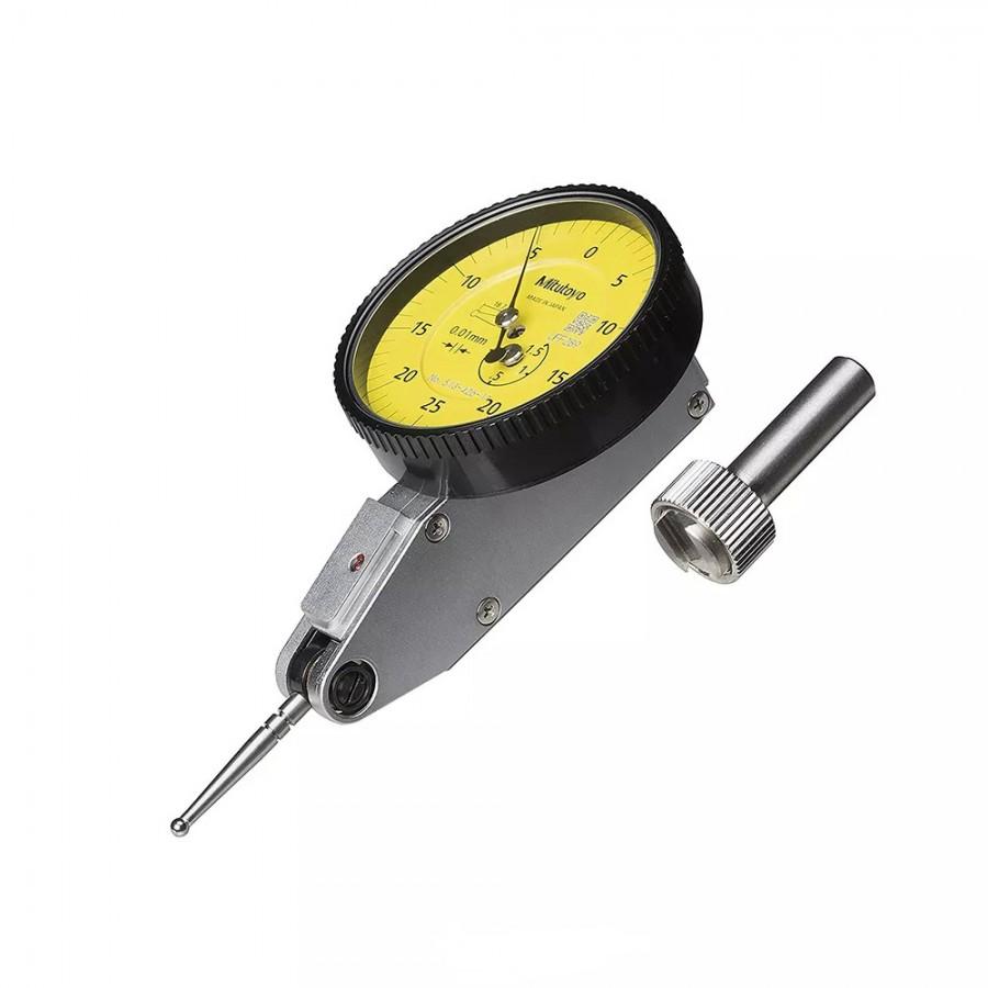 Reloj Palpador 1.5mm 0.01mm Punta de Metal Duro 513-426-10E