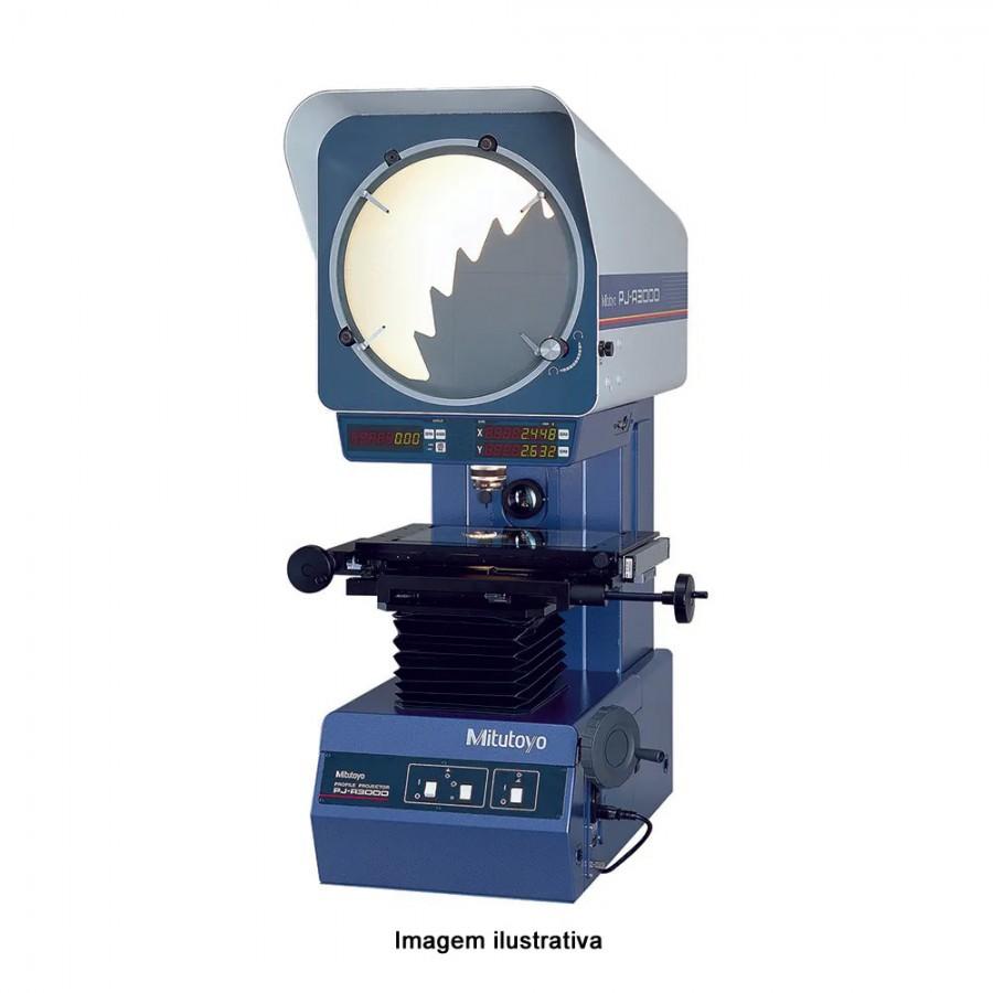 Proyector de perfil - PJ-A3010F-100 - Mesa 100x100 (mm) - 302-703A